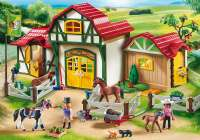 Playmobil : Horse Farm - Playmobil Hestestald 6926