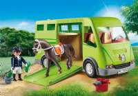 Playmobil : Horse Box - Playmobil Hestestald 6928