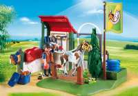 Playmobil : Horse Grooming Station - Playmobil Hestestald 6929