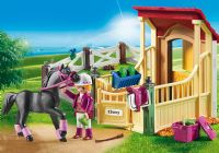 Playmobil : Horse Stable with Araber - Playmobil Hestestald 6934