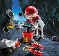 Playmobil : Rock Blaster with Rubble - Playmobil 9092