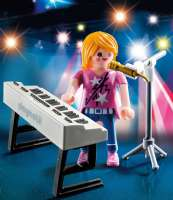 Playmobil : Singer with Keyboard - Playmobil 9095