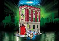 Playmobil : Ghostbusters Firehouse - Playmobil Ghostbusters 9219